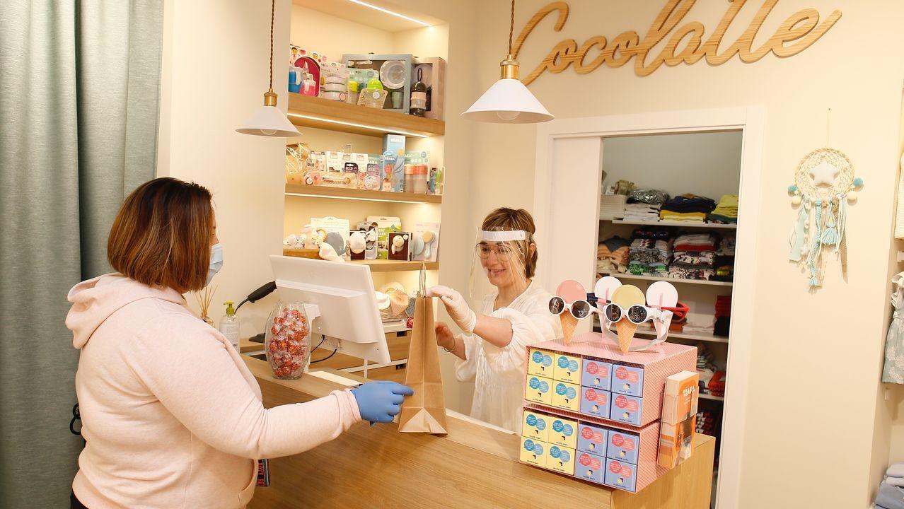 En imagen, una de las primeras ventas de este lunes de Cocolatte