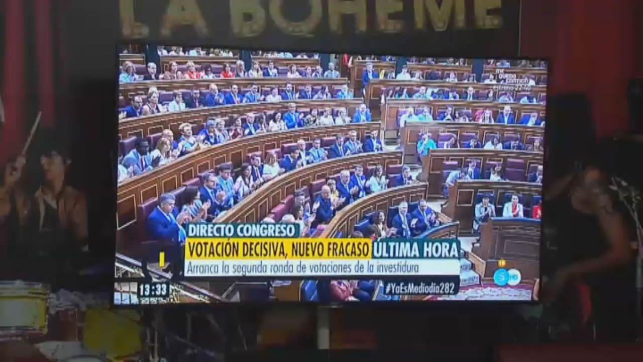 El PSOE sube en el CIS de julio hasta el 41,3 %.El presidente del CIS, Jose Félix Tezanos, cree que se debe facilitar la investidura de Pedro Sánchez