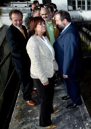 López Orozco y Narbona, cuando esta todavía era ministra.