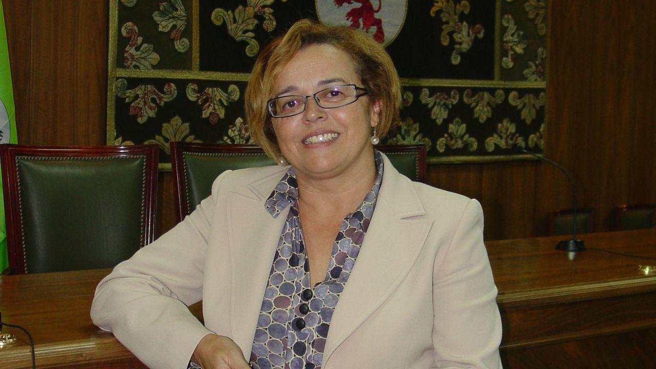 La científica asturiana Rosa Menéndez.La científica asturiana Rosa Menéndez