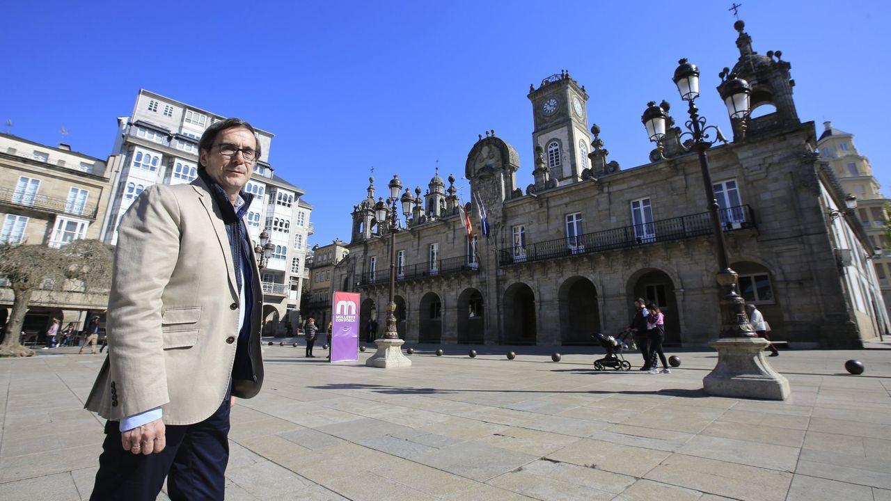 Quique Rozas, exconcejal de Lugo