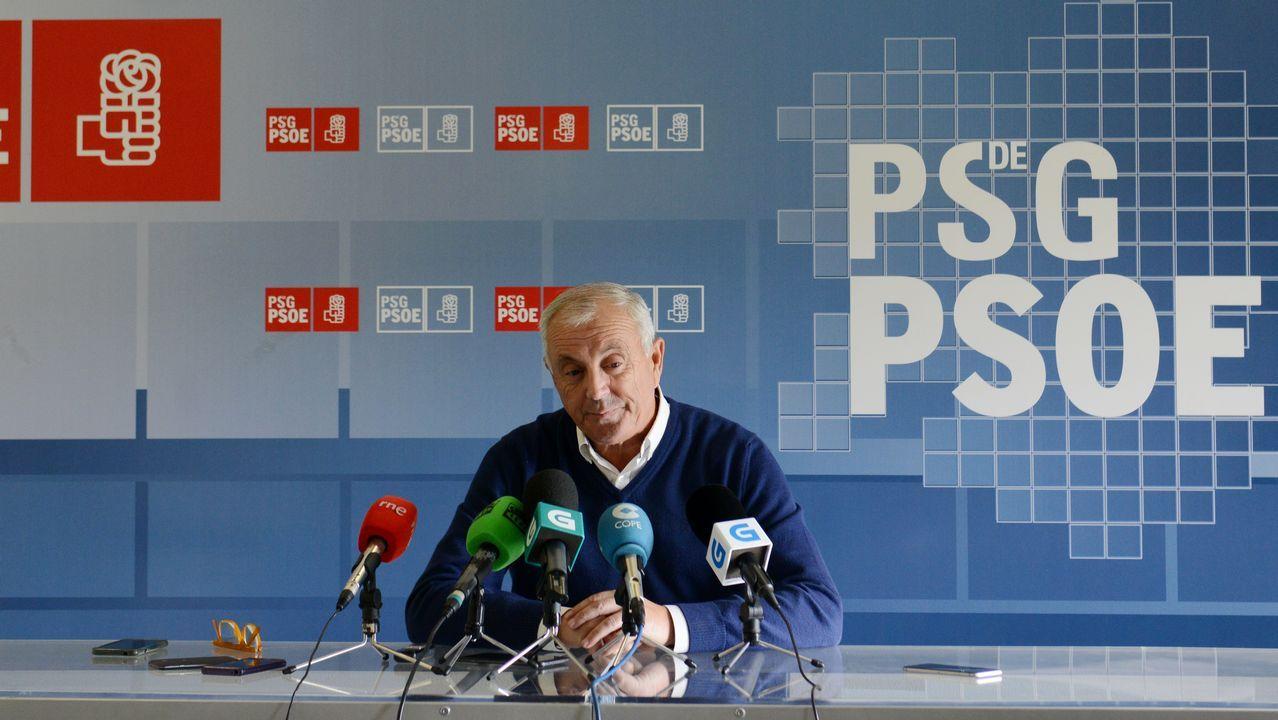 Pachi Vázquez, Álvaro Vila, Rafael Rodríguez y Noela Blanco