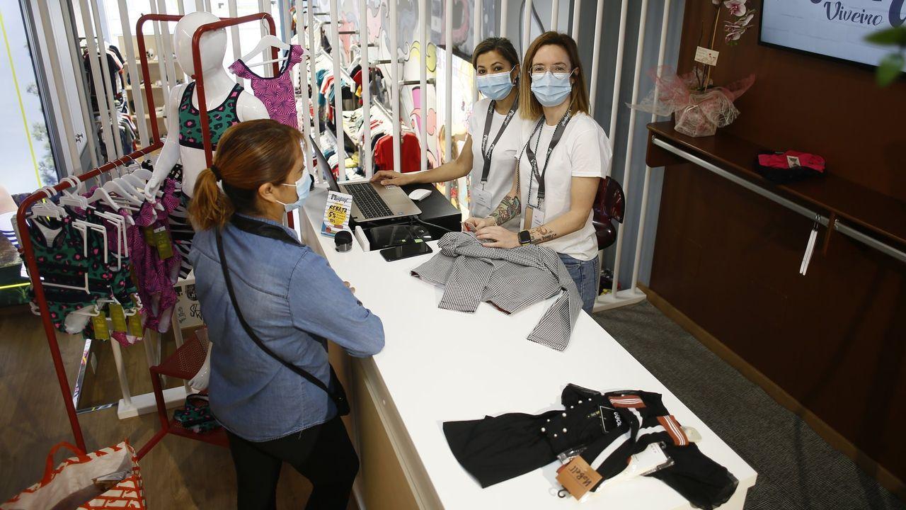 Mimimó, en imagen de archivo la tienda de Viveiro, ha abierto dos comercios durante la pandemia