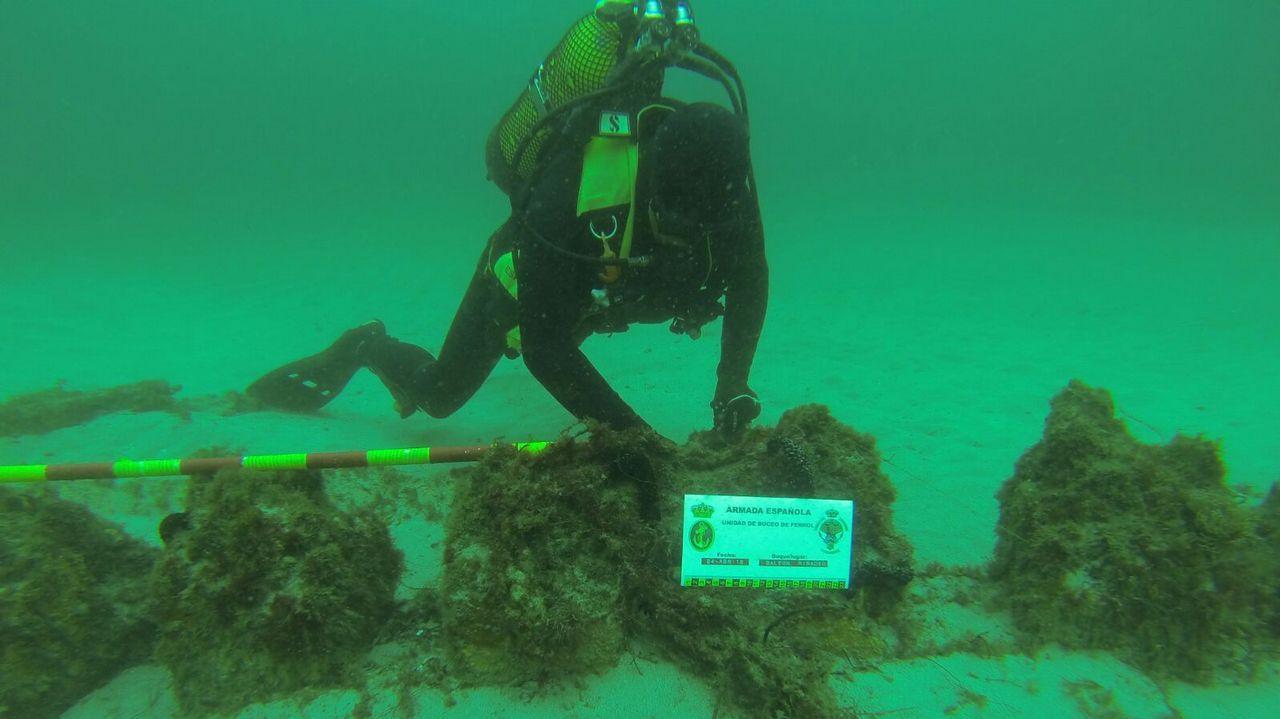 La Armada que opera bajo el mar