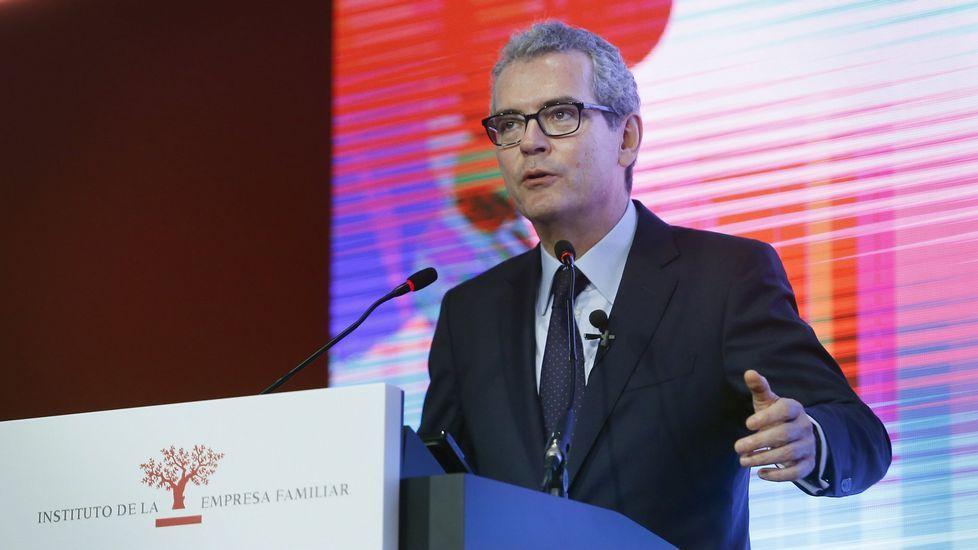 Así le fue a Inditex en 2016.Ángel Antonio del Valle, expresidente de Duro Felguera