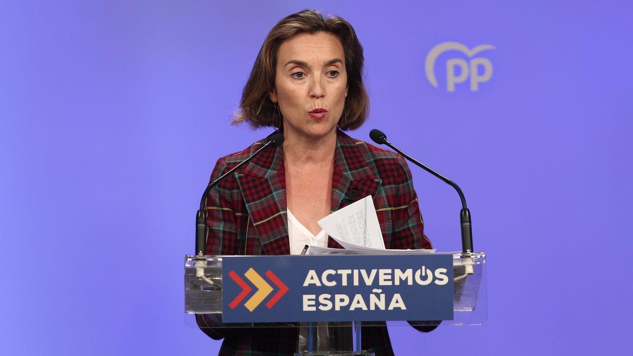 Asier Antona Canarias. Fue otro de los que más se significó con Soraya, pero Casado decidió respetarlo de candidato a la presidencia.