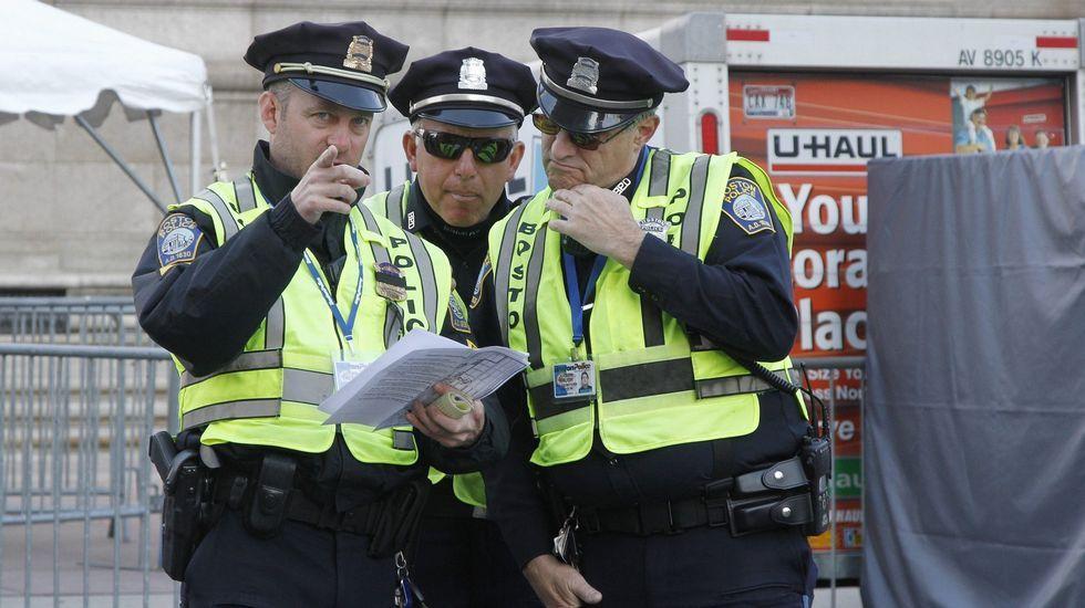 Agentes de la policía de Boston
