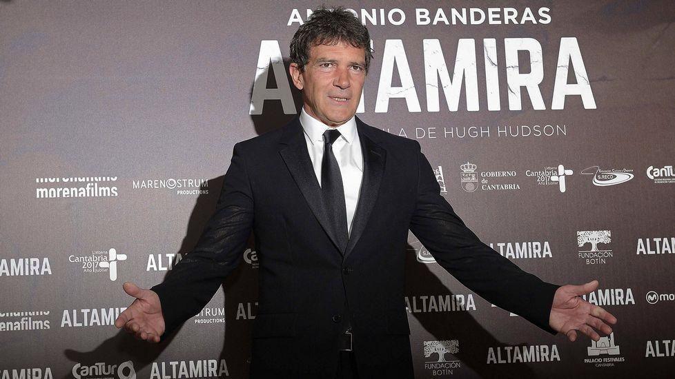 Antonio Banderas sobre Celia Trujillo: «Ella ha formado una parte muy importante de mi vida».Antonio Banderas, en el Festival de Málaga