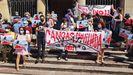 Protesta contra la novillada prevista en Cangas de Onís