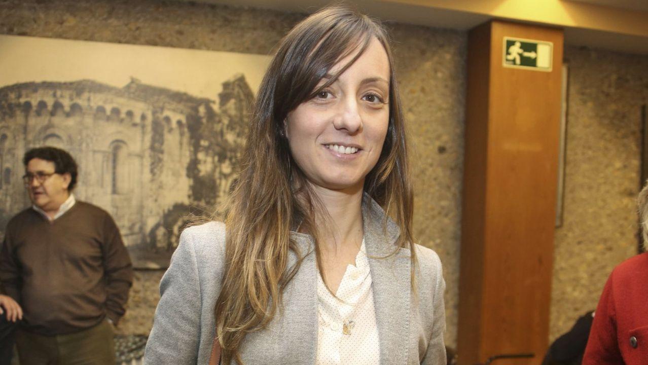 Paloma Castro Rey. concejala del PSOE en Pontevedra