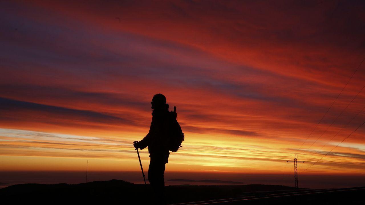 Las puestas de sol desde la playa y la montaña.Alexandra Seara, xerente do Consorcio de turismo Ribeira Sacra