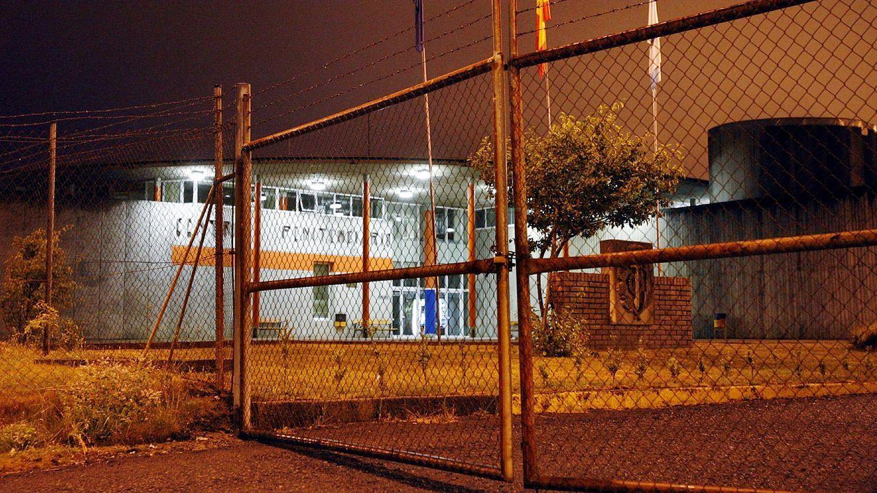 Vista general de la cárcel de Asturias.Rodrigo Rato es de los pocos que están en prisión. Ingresó hace un mes, condenado a cuatro años y medio por el escándalo de las tarjetas «black»
