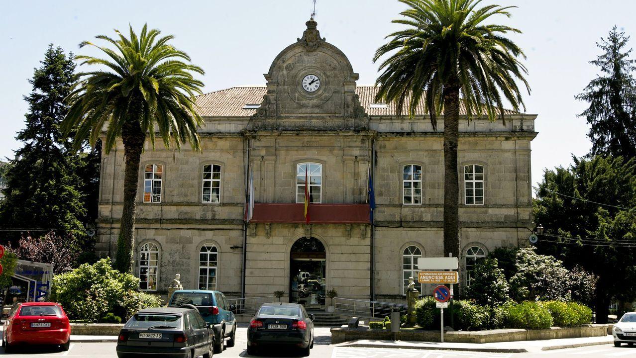 Centro de salud del área de Vigo.