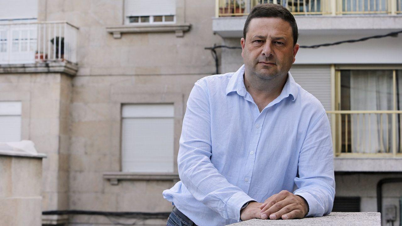 Manuel Campos, alcalde de Cuntis