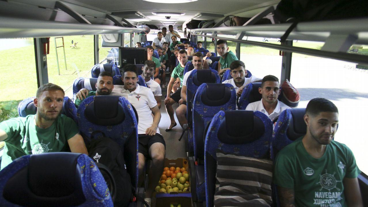 Las imágenes del ascenso del Racing de Ferrol