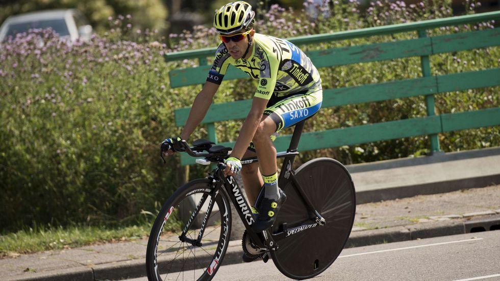 El ciclista de Pinto busca no perder las buenas sensaciones antes de su estreno.