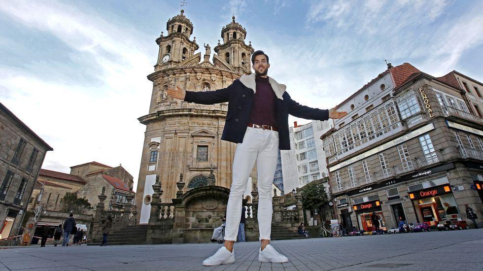 Andrés Ogando, un pontevedrés Mister Valencia