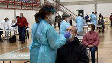 En febrero hubo un cribado en O Barco, entonces con test de antígenos; el del sábado será con prueba PCR