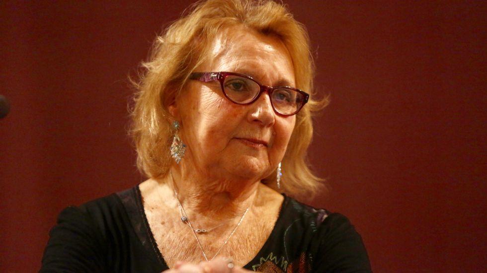 El último adiós a Rubalcaba, en imágenes.La exministra de Economia, Elena Salgado