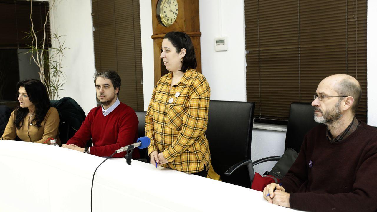 Milagros Louzán, nova concelleira de Igualdade de Foz, que tomou posesión do cargo días antes do 8M