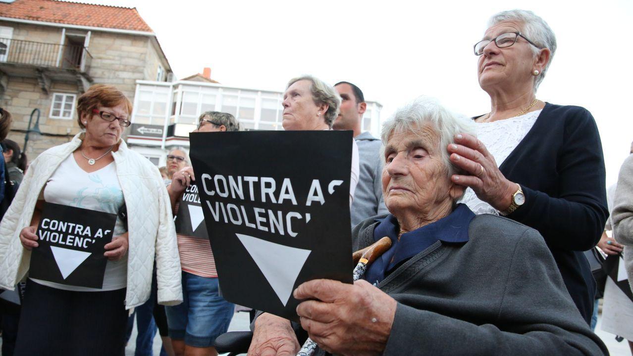 Grito unánime en la Costa da Morte contra la lacra machista.Ayer comenzó la novena de San Adrián de Verdes