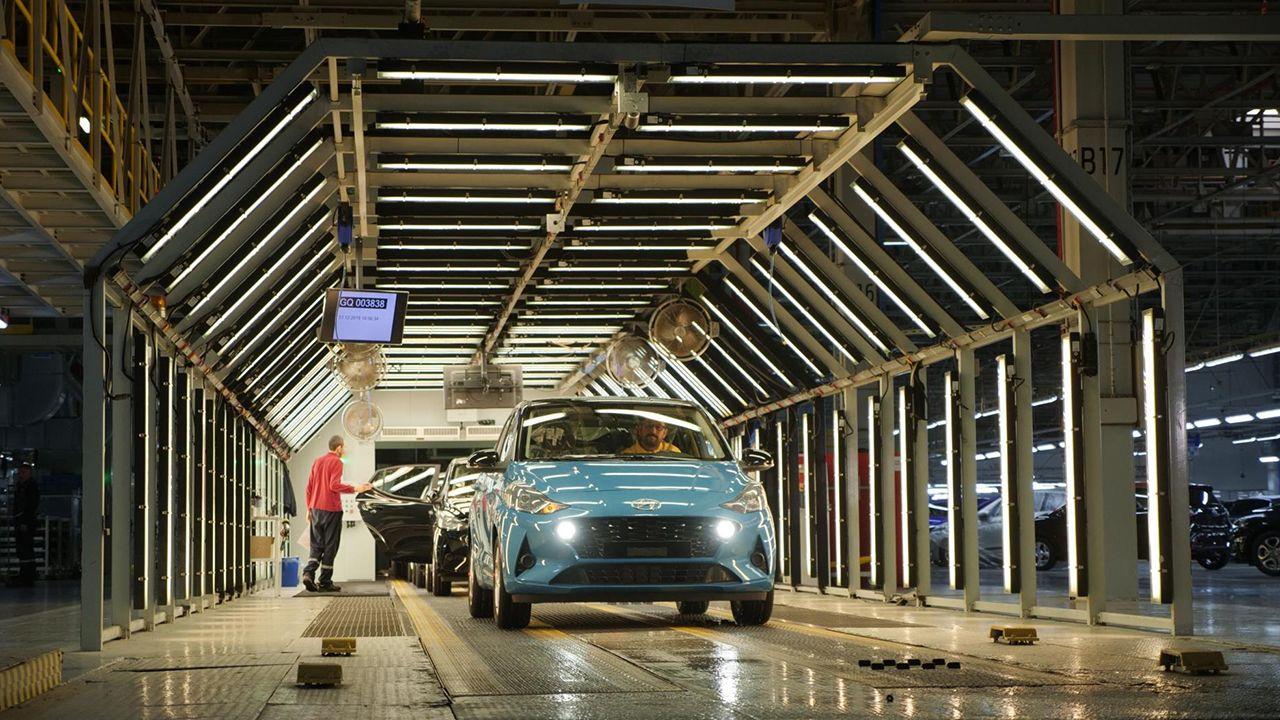 Hyundai inicia la producción del nuevo i10