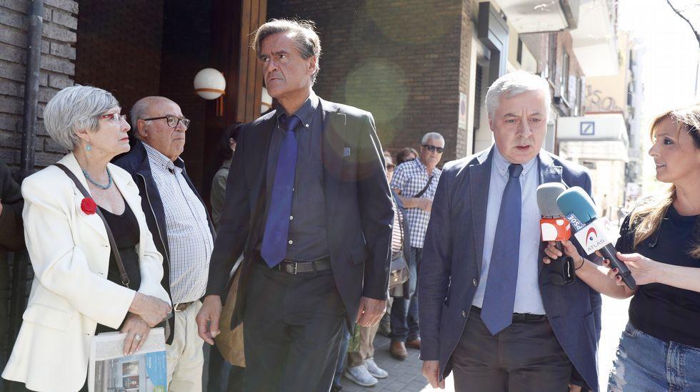 Los exministros socialistas López Aguilar y José Blanco