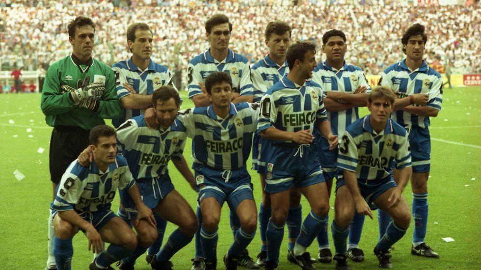25 años de un ascenso histórico.El Deportivo trabaja en la idea de realizar todos los entrenamientos a puerta cerrada.