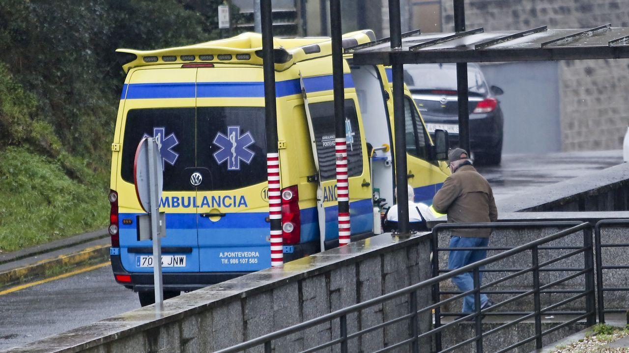 En el hospital Montecelo, en Pontevedra, ya solo quedan dos unidades o plantas covid, neumología y urología-otorrino