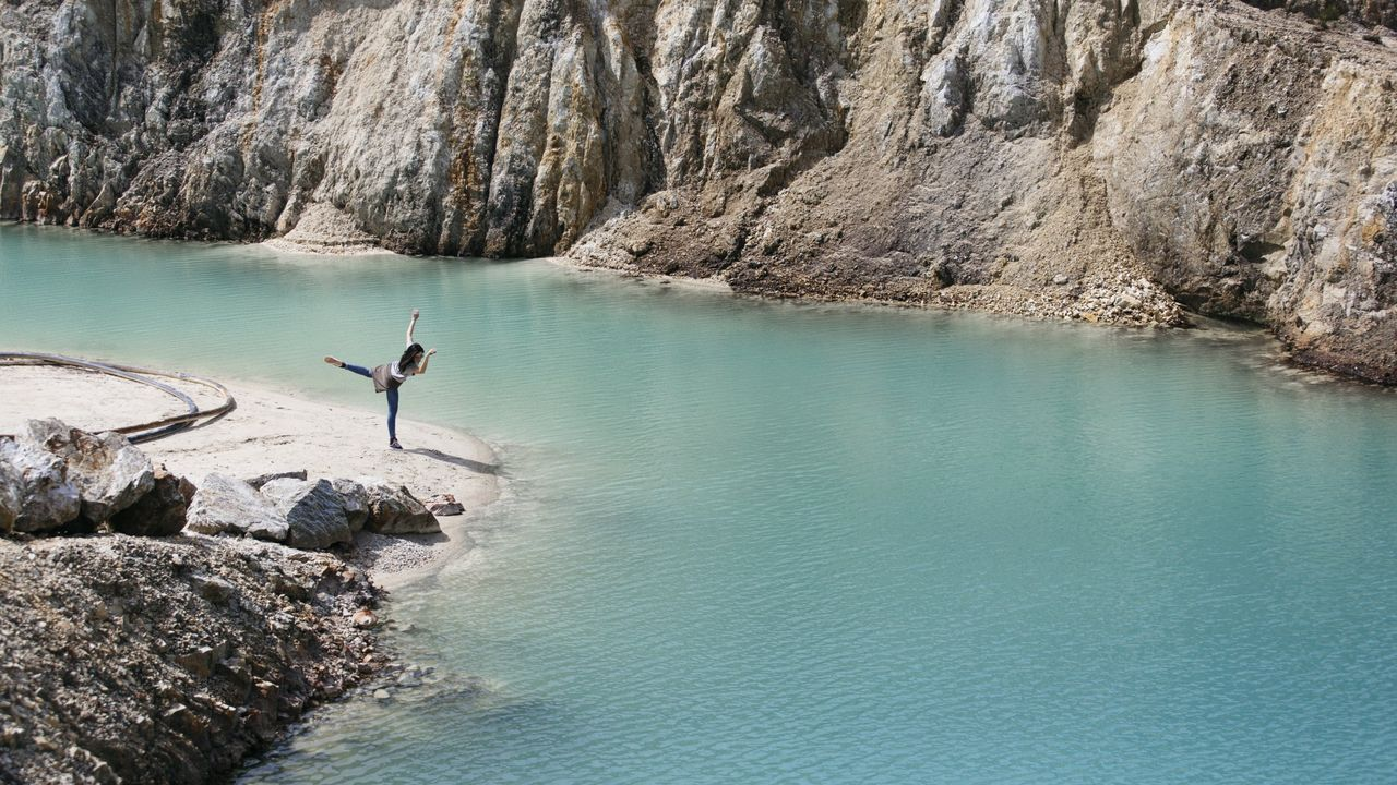 Hay «instagramesr» que toman fotografías en Monte Neme pero evitan el baño
