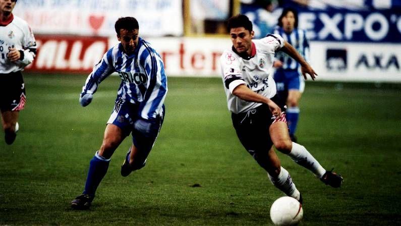 Partido entre el Dépor y el Salamanca en 1997