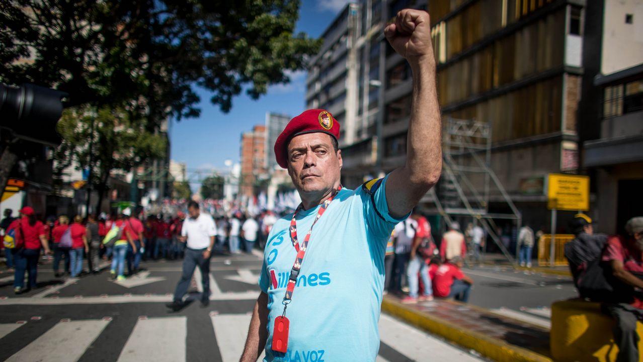 El opositor venezolano Julio Borges, junto a Pablo Casado
