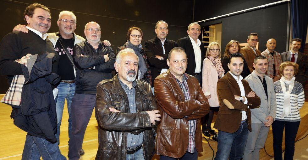 La cuarta directiva del Centro de Iniciativas Turísticas recibió un homenaje ayer en A Pontenova.