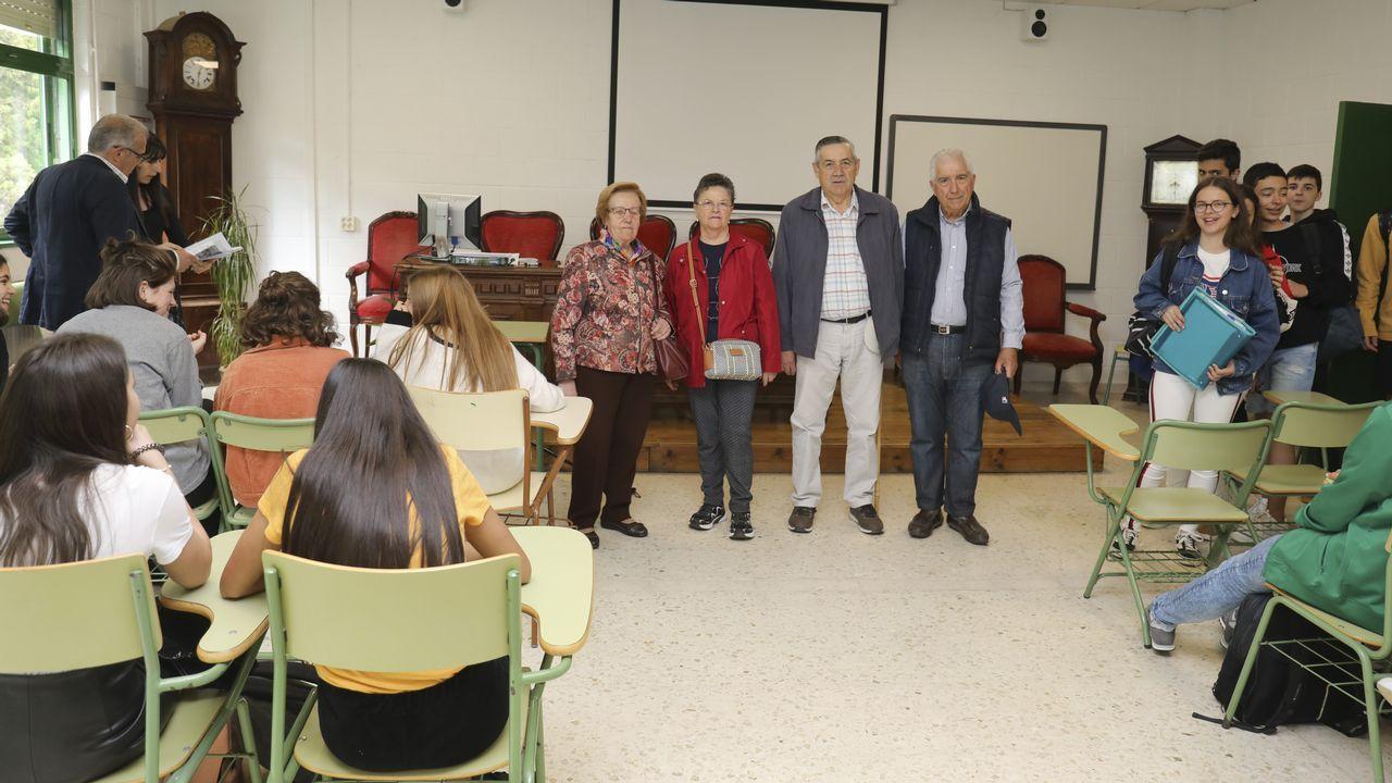 Alumnos en formación en la Antonio de Escaño