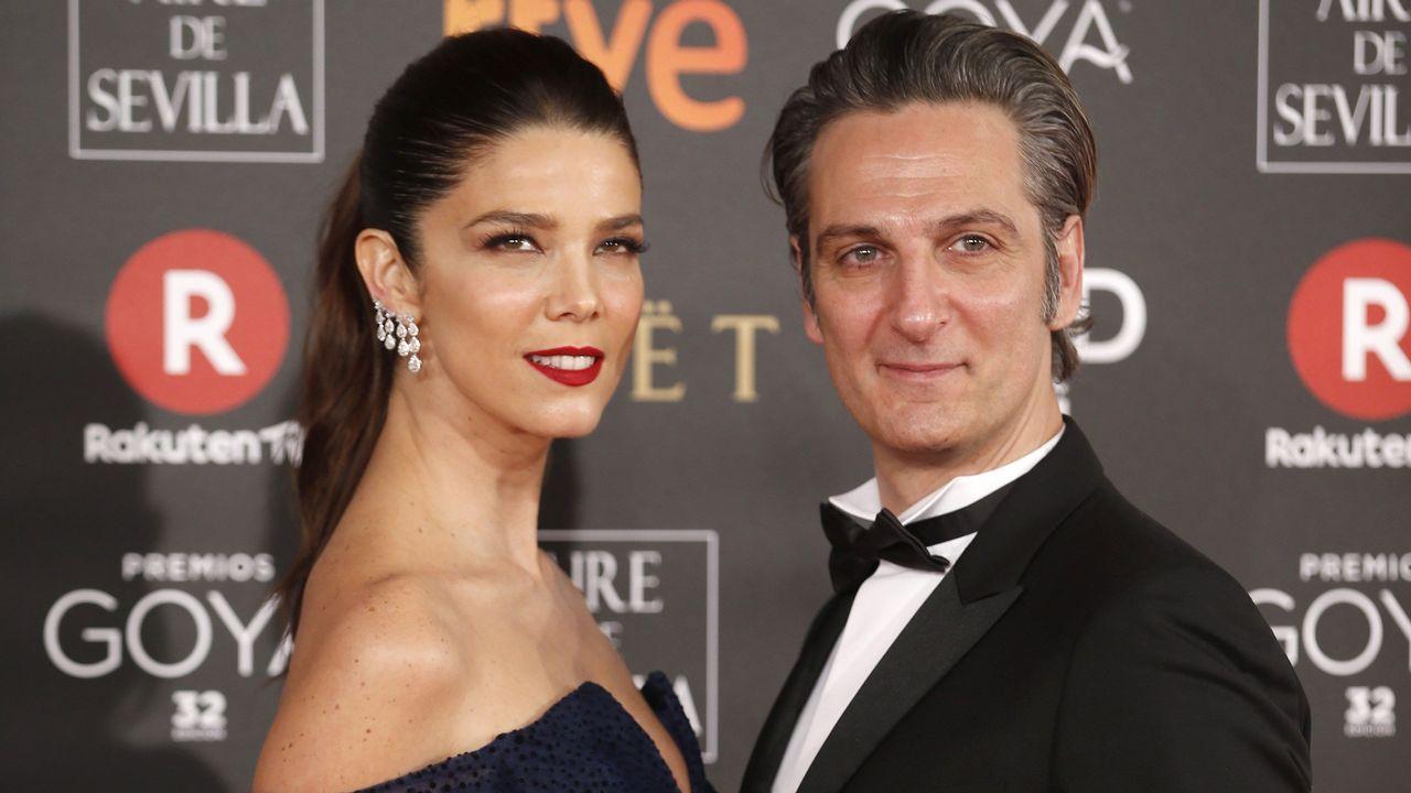 Maria Botto.La actriz Juana Acosta jutno a su pareja Ernesto Alterio.