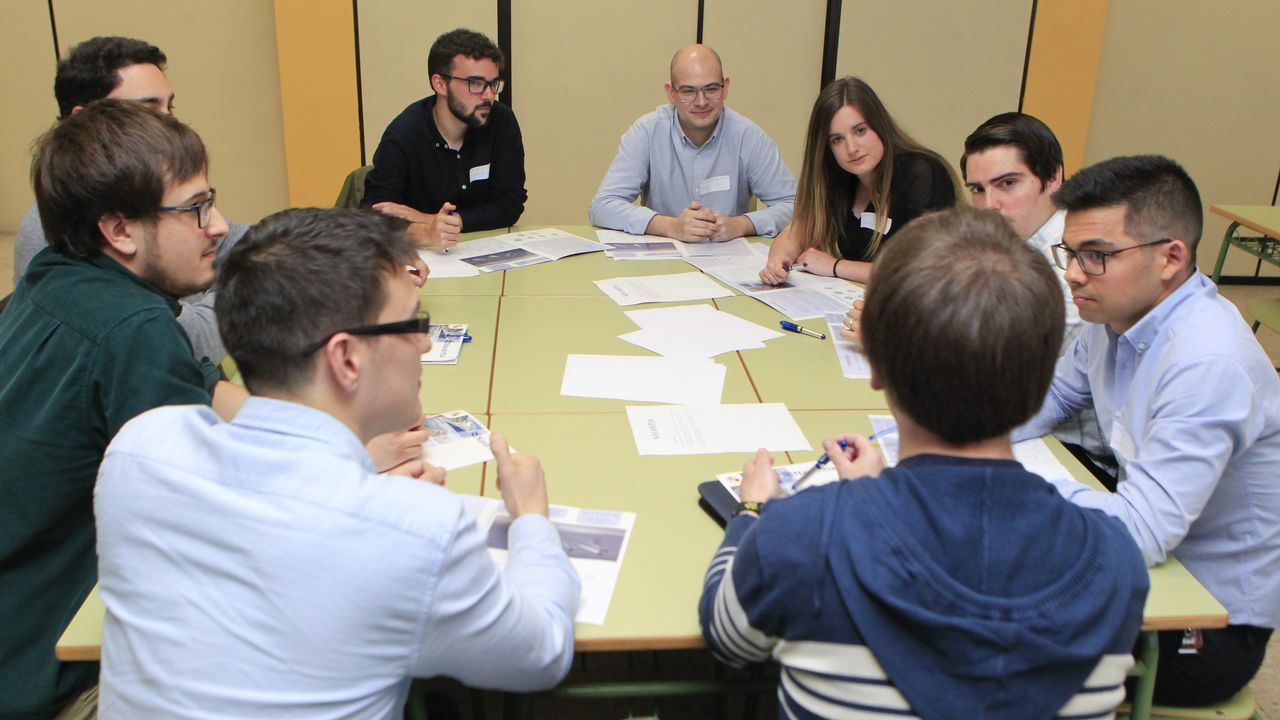 La jornada del «Meeting Day» incluyó la celebración de varias dinámicas de grupo