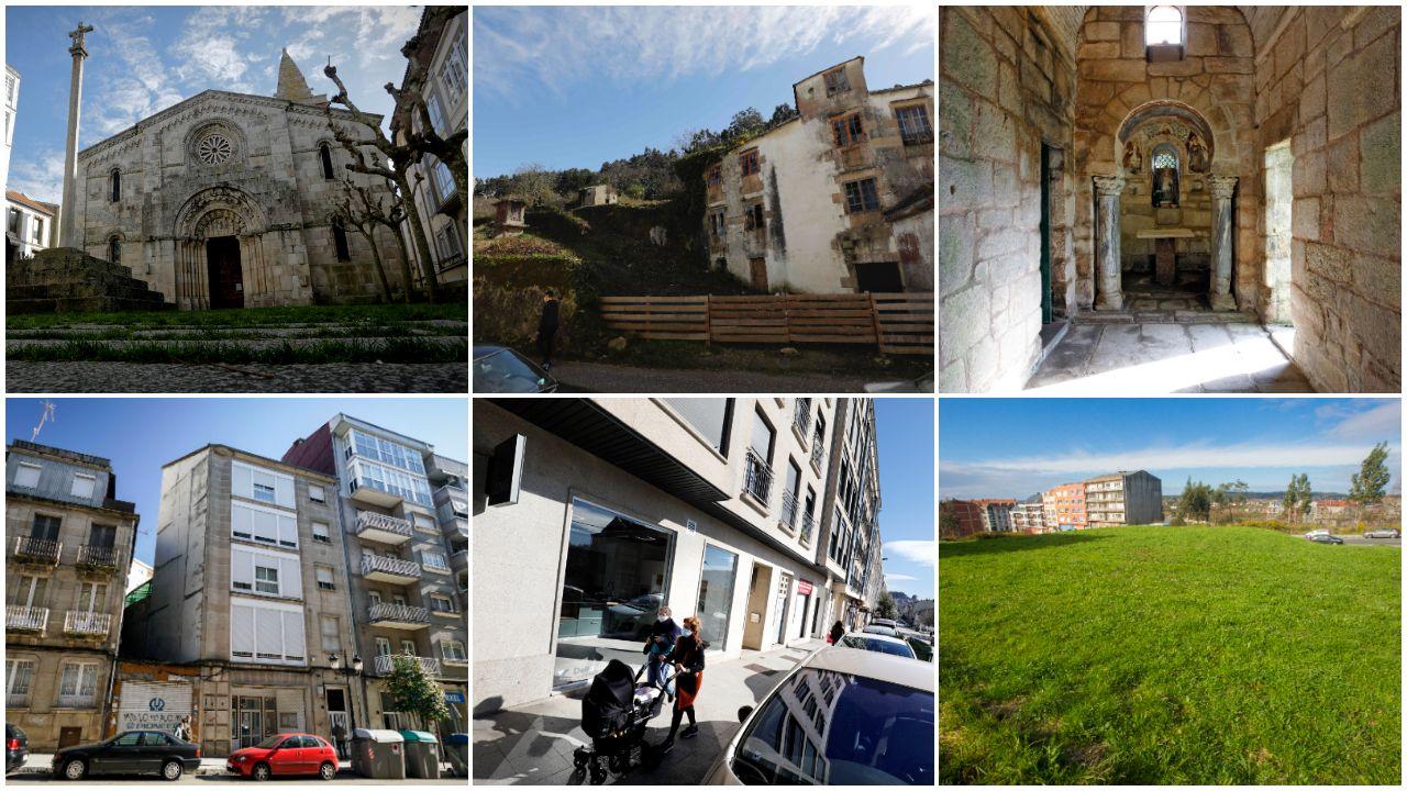 Algunas propiedades de la iglesia en Galicia