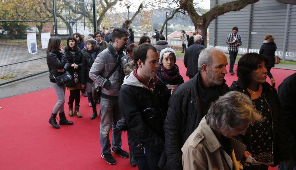 Los ourensanos pudieron disfrutar de las mejores películas del festival en el Auditorio.