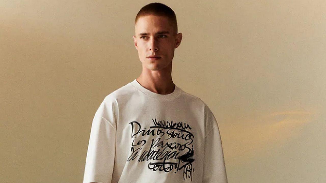 Carlos García-Calvo, una vida en imágenes.Uno de los looks de la nueva colección de Zara con pañuelo a modo de top