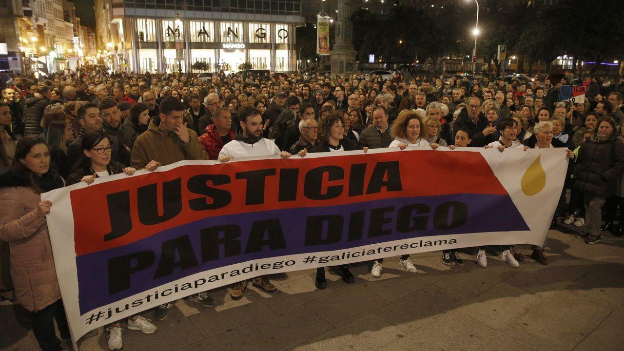 Imagen de la concentración realizada el pasado mes de febrero