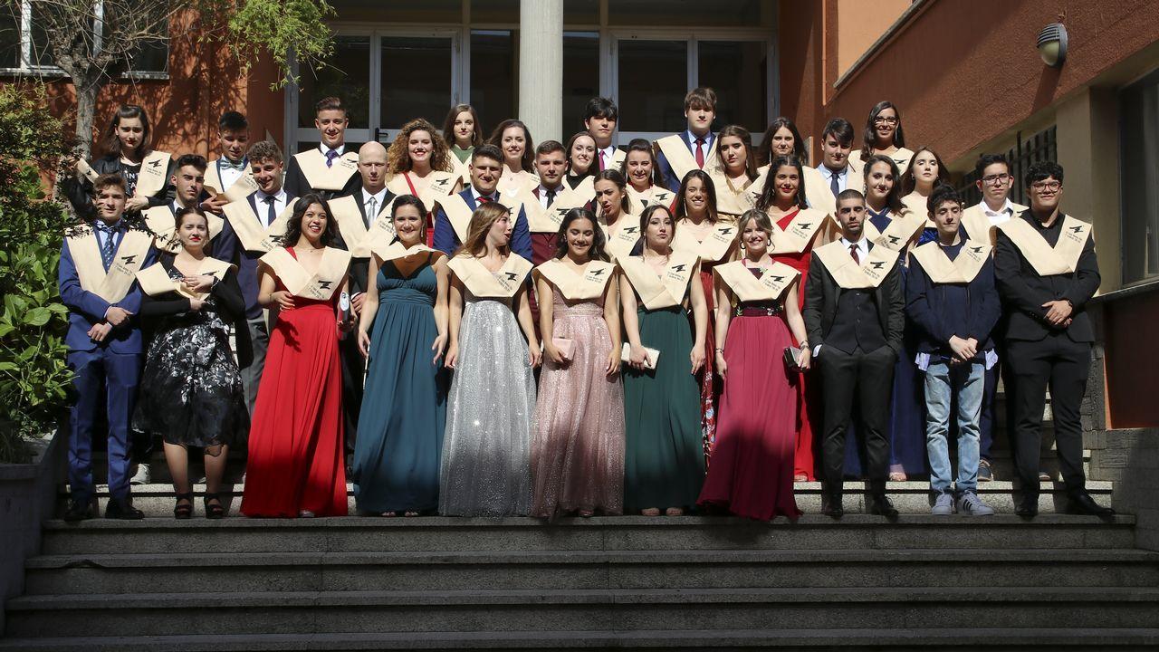 Graduación de los alumnos de Zalaeta.