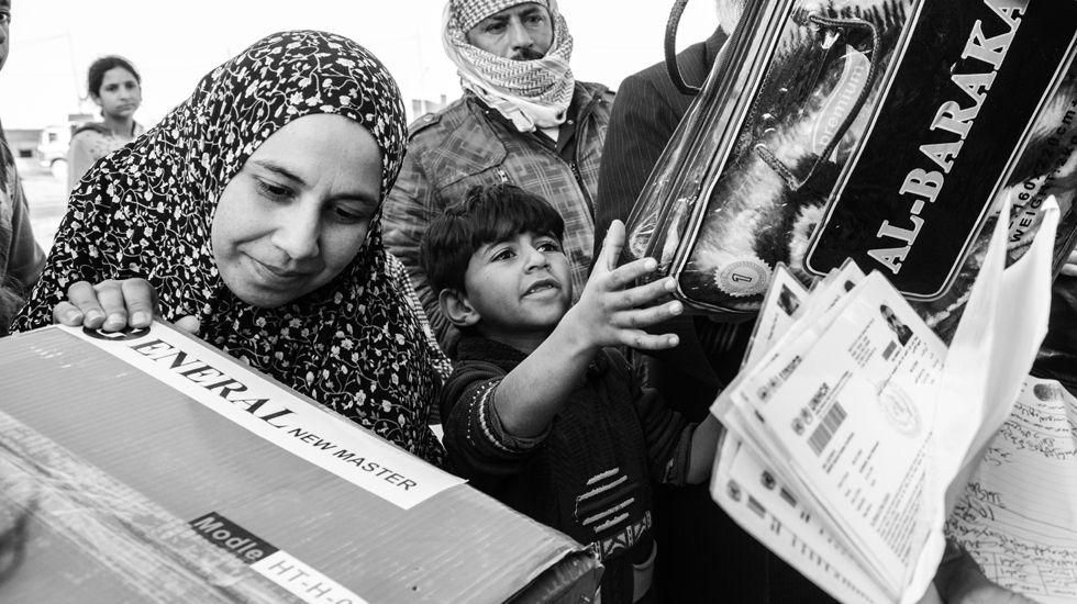 Así trabaja Mensajeros de la Paz con los refugiados de la frontera sirio-jordana