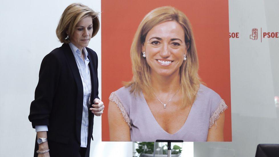 La ministra de Defensa María Dolores de Cospedal.
