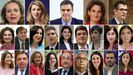 Nuevo Gobierno de Sánchez julio 2021.Estos son las tres vicepresidentas y los 20 ministros que forman con Pedro Sánchez el cuarto Gobierno de coalición