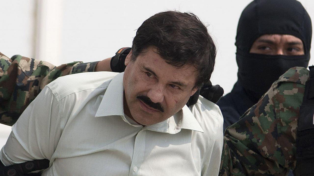 El líder del cártel mexicano de Sinaloa, Joaquín «El Chapo» Guzmán