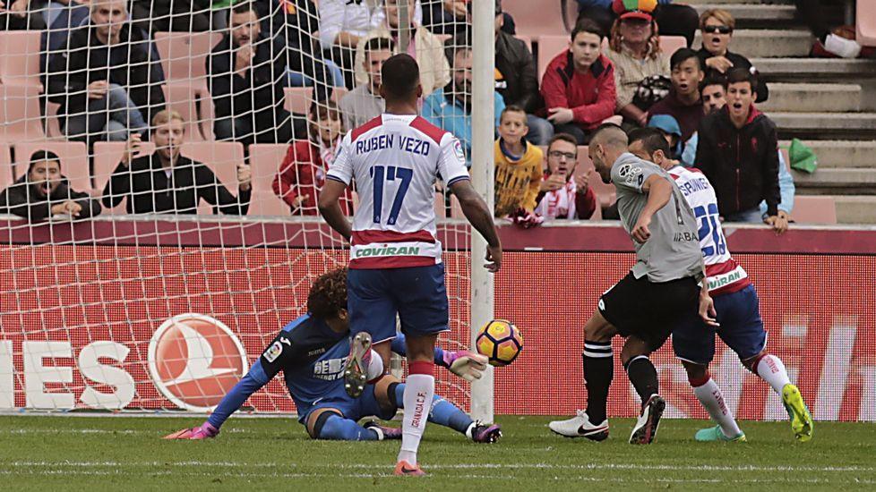 El Granada-Deportivo, en fotos.Lucas, en su último partido con el Dépor