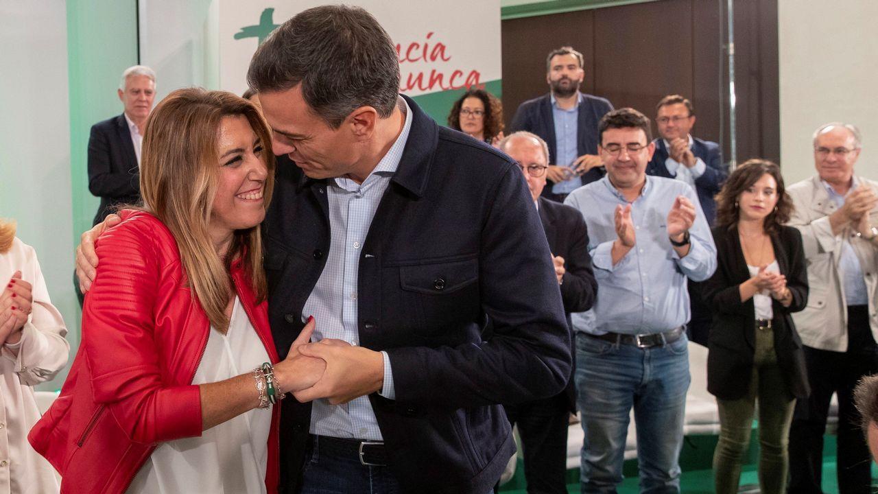 Comité Federal del PSOE.Javier Fernández y Adrián Barbón