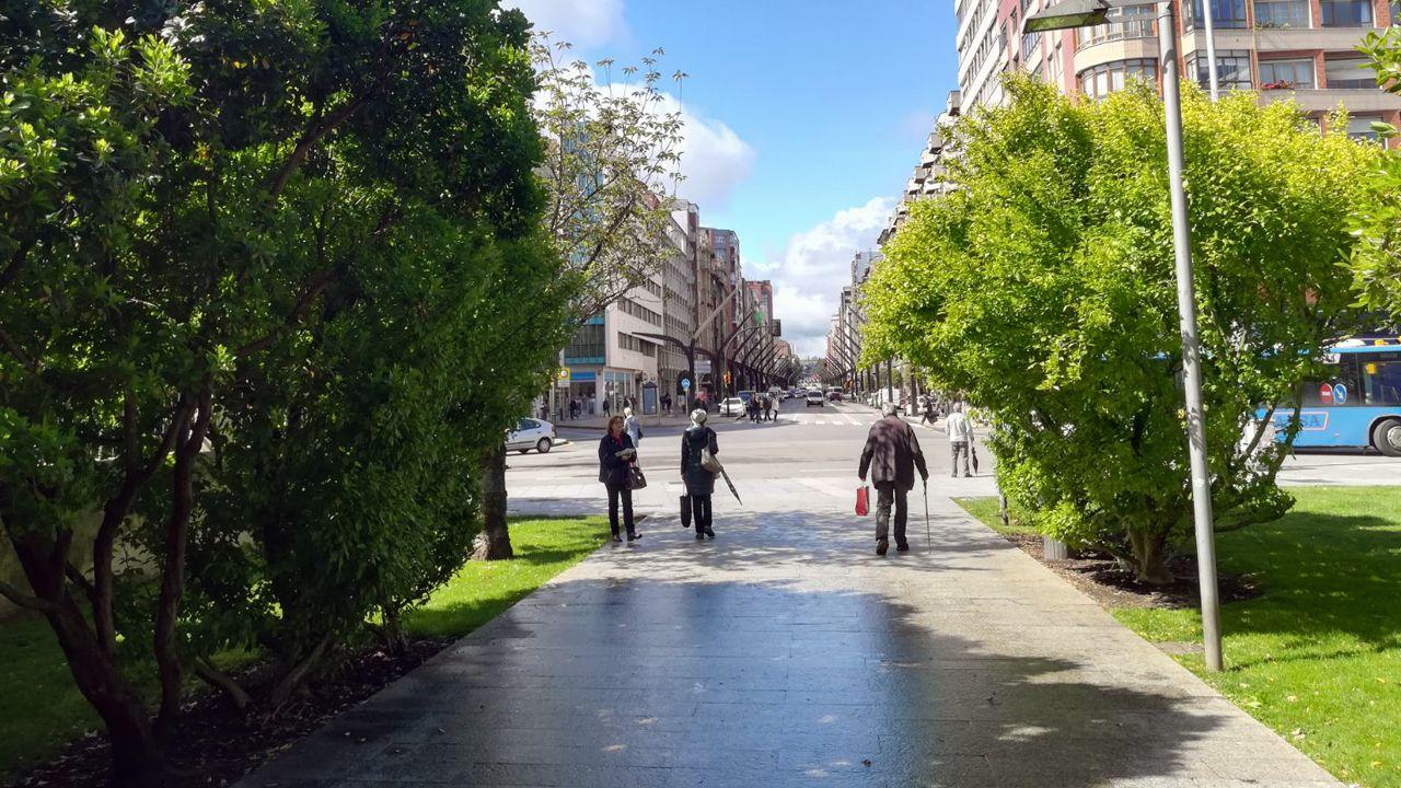 El parque de la plaza Europa, junto al centro de salud de la Puerta de la Villa