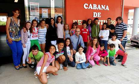 Jesús Ferreiro Rúa disfrutó este verano de unos días en Corme, coincidiendo con la celebración de la Festa do Percebe.