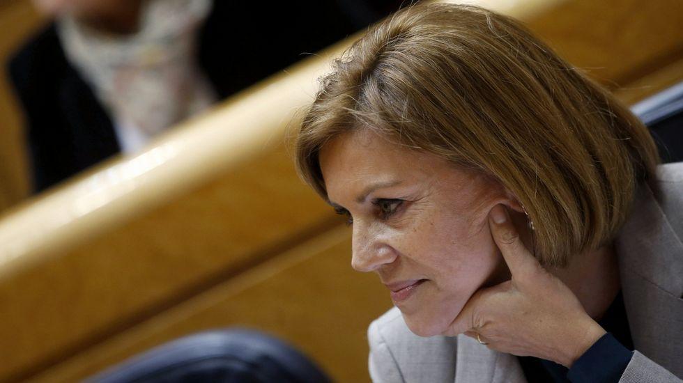 Cospedal sobre la corrupción: «En alguna ocasión no fuimos lo ágiles que la sociedad demandaba».Mercedes Fernández